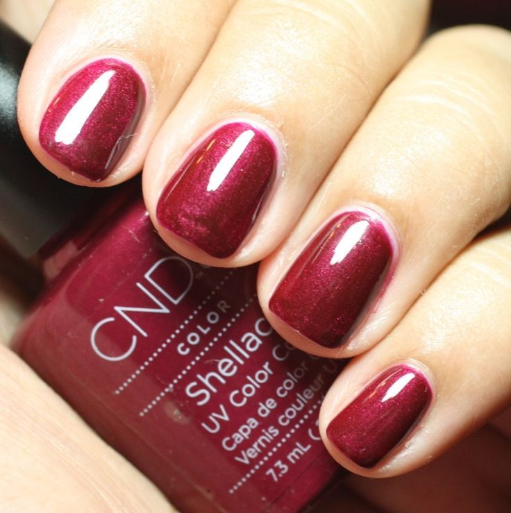 """CND Colour of The Month...  """"Masquerade""""  Choose this colour for your manicure of pedicure this month and receive a complimentary CND Solar Oil!"""