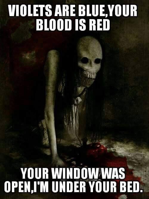 creepy pasta...this has officially freaked me out!!!