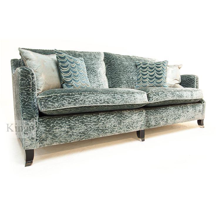 #Duresta #Upholstery Amelia Grand #Sofa in Aquamarine Beaumont www.kingsinteriors.co.uk/clearance