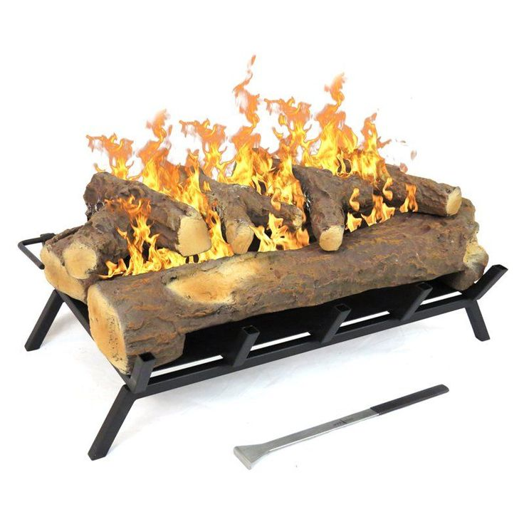 Have to have it. Moda Flame Convert to Ethanol Gas Log Insert - 24 in. - $349.99 @hayneedle