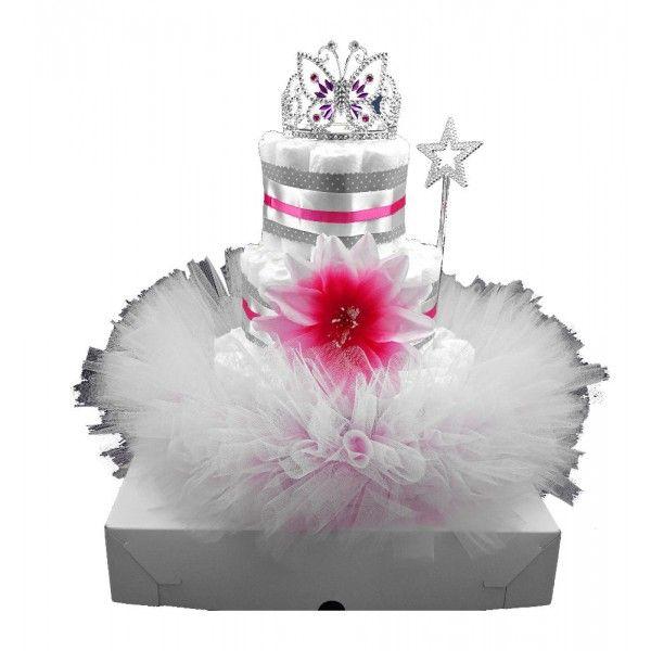 Prinses taart licht roze