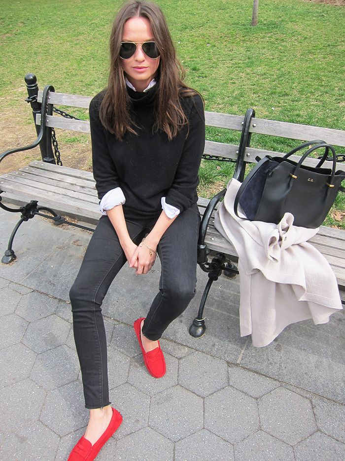 Columbine Smille - Red Tod's (L)