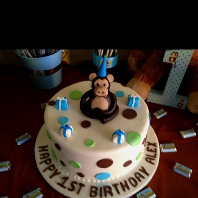 71 best monkey boy baby shower birthday party ideas images on pinterest boy shower baby boy - Monkey baby shower cakes for boys ...