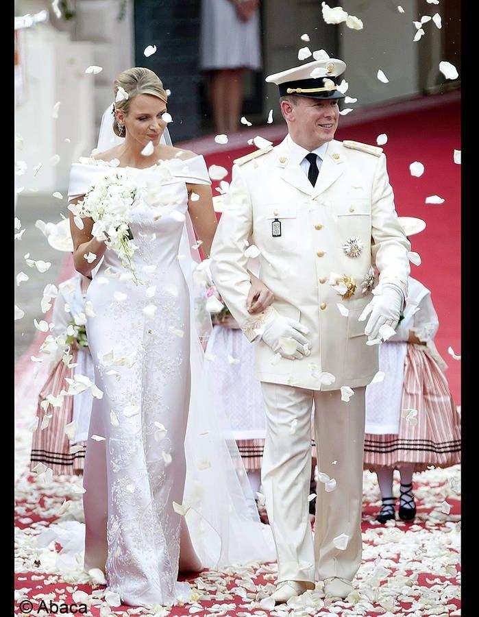 le mariage de Albert de Monaco et Charlène Wittstock / Les meilleures photos de mariage de stars