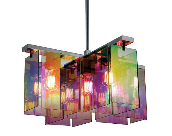 Beautiful Pendant Light Design and Its Type: Beautiful Dichroic Modern Pendant Lighting Fitted To Colorful Room Space ~ novavn.com Lamps Inspiration