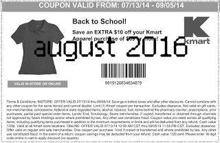 Free Printable Coupons: Kmart Coupons