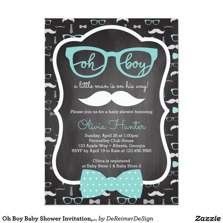 204 best Baby Shower Invitations & Ideas images on Pinterest | Baby ...