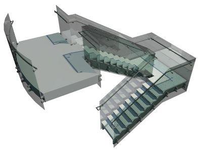 Best Revit Families For Architecture Stairs Revit 400 x 300