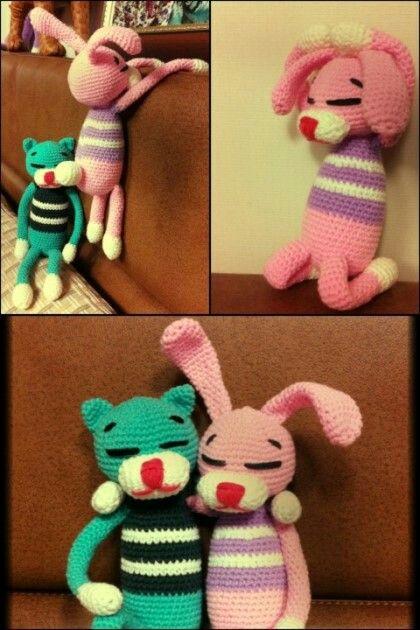 Amineko amigrumi Knitting doll by Miranda Song