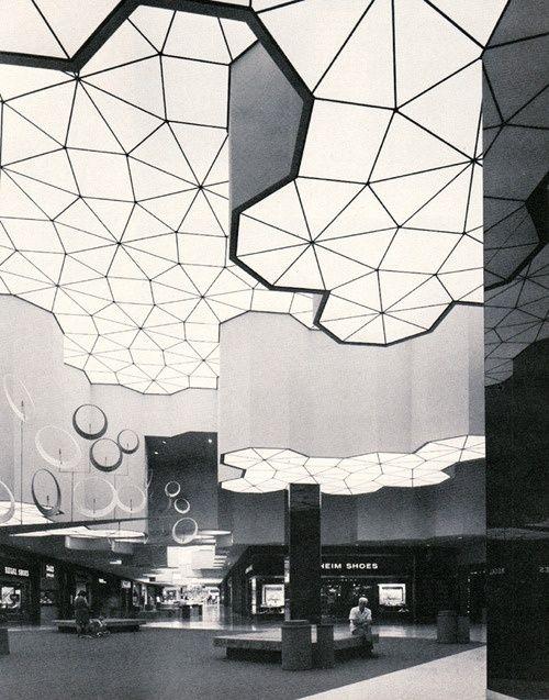 The newly opened Sunrise Mall in Sacramento, CA. 1973