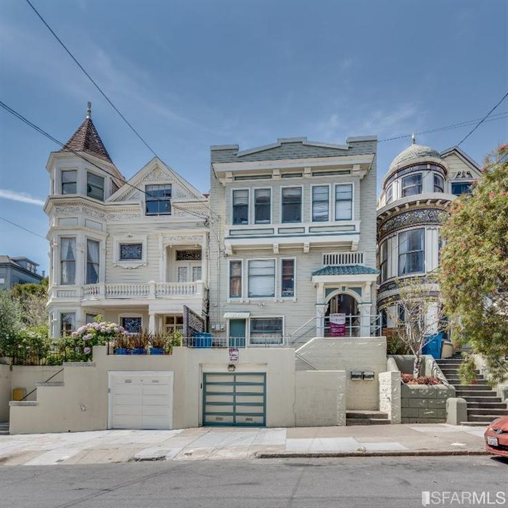 San Francisco House Rentals: Multi Family Victorian Built In 1907, Noe Valley- San