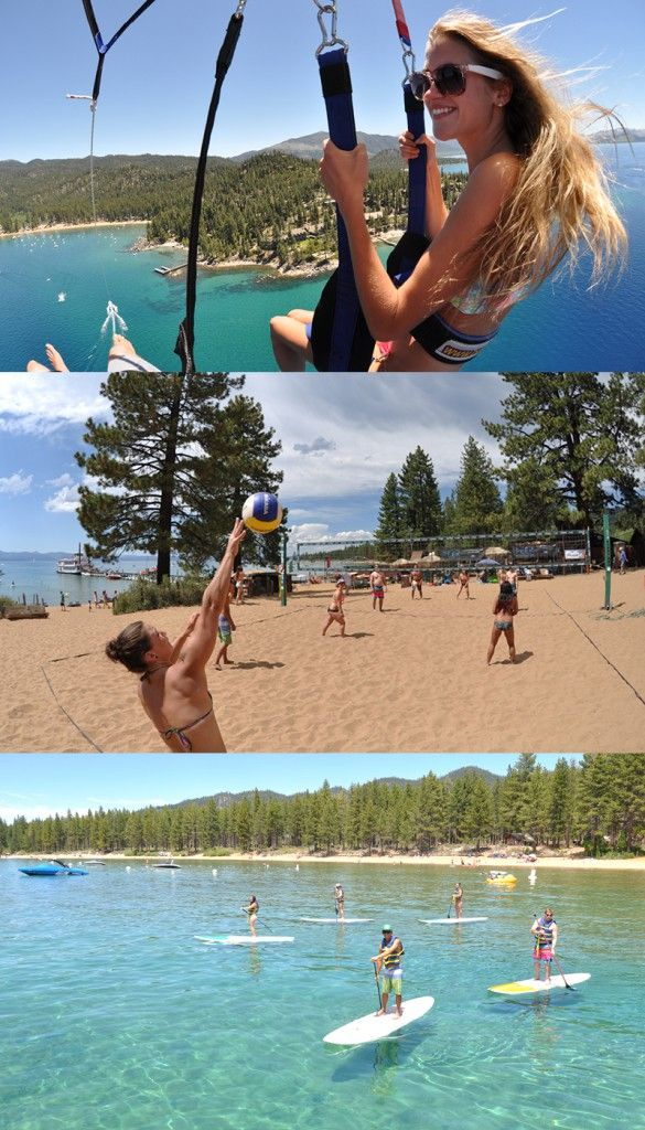 Not only is Tahoe South a beautiful place to get married, but it also offers dozens of fun activities for your bridal party — before, on or after your big day. Here are five of our favorites. #weddingparty www.TahoeWeddingSites.com
