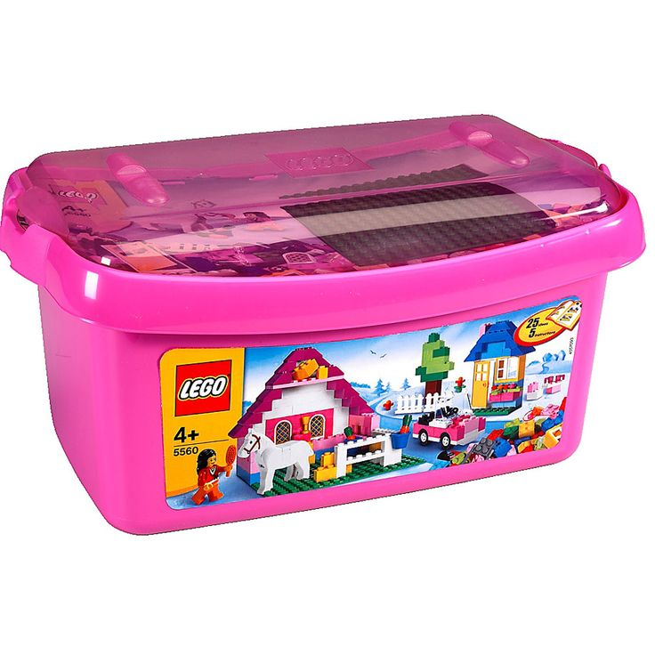 Present idea for Brydie LEGO Large Pink Brick Box 5560
