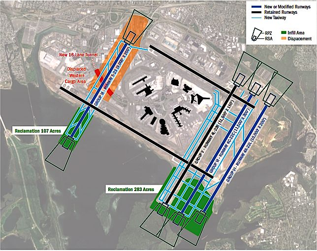 Jfk airport runway layout plan plan association report - Planning and design of airports pdf ...