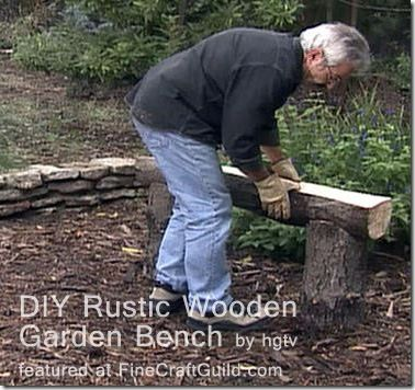 Tutorials for building several different kinds of outdoor benches for your garden or yard