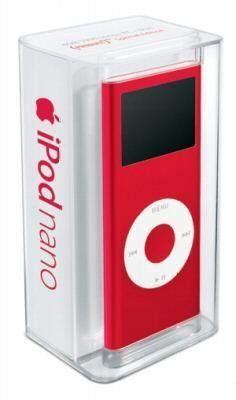 Apple iPod nano 4 GB Red (2nd Generation)
