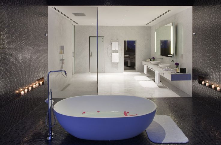 49 best Extreem luxe hotel badkamers images on Pinterest | Hotel ...