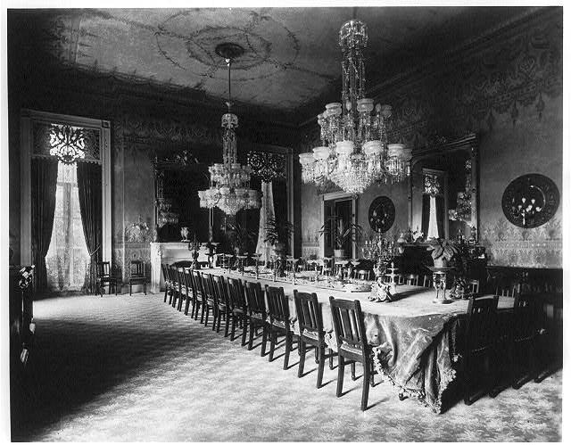 The State Dining Room 1890 Dining Room Room Dining