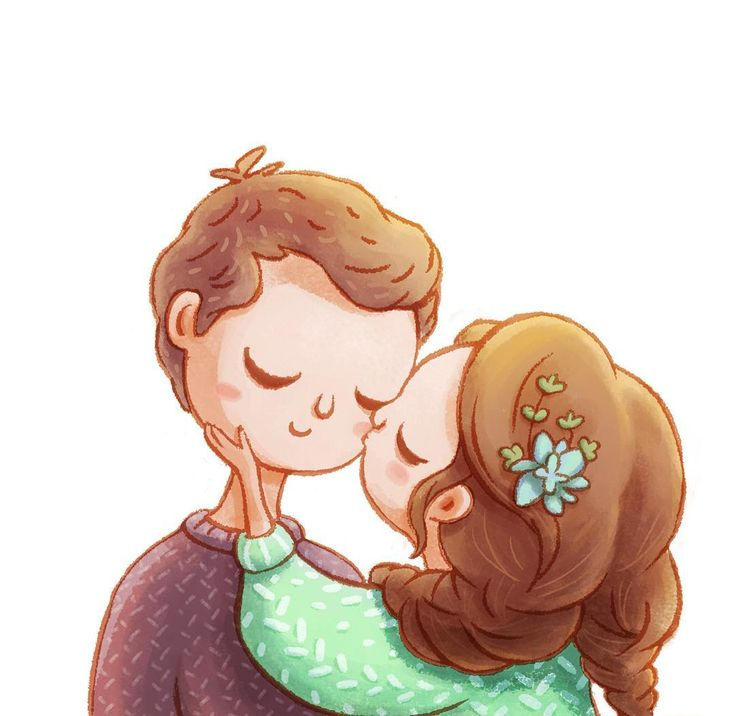 Best Couple Illustration Ideas On Pinterest Couple Art - Cute illustrations capture how love is in the small things