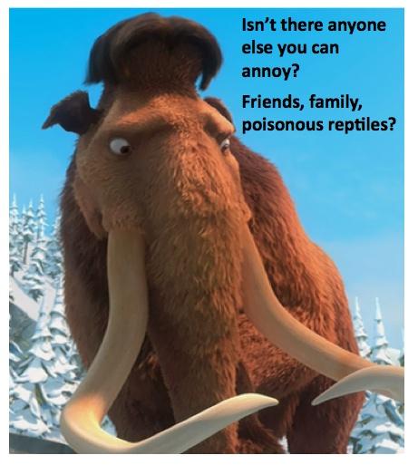 Ice Age's Manny