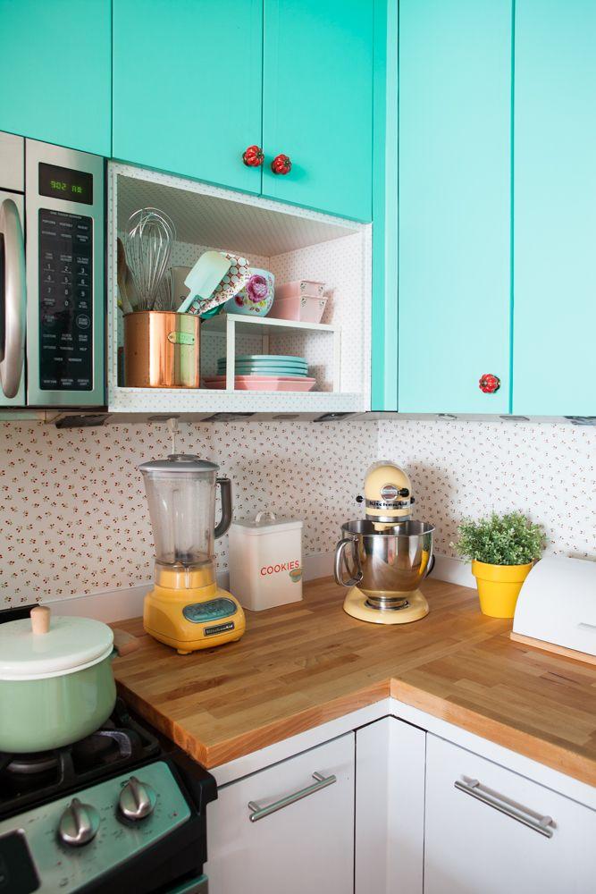 Um colorido apartamento de Raiza Costa em NY