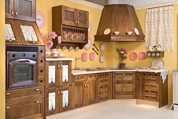 Dise o de cocinas clasicas mueblesarria sevilla - Muebles de cocina en cordoba ...