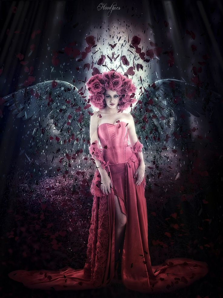 Angel of Roses by Hoodpics-Art Photography on 500px