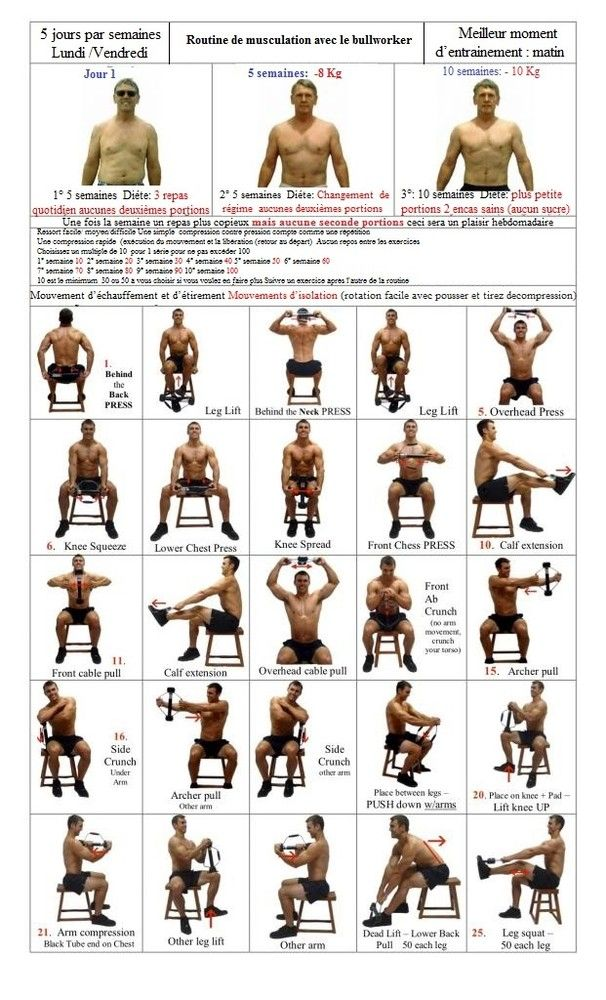 48 Best Bullworker Images On Pinterest Exercises