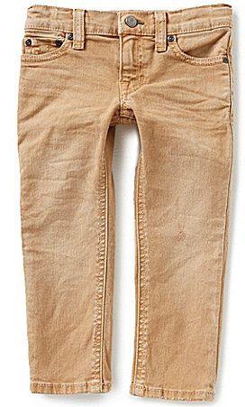 Ralph Lauren Childrenswear Little Boys 2T-7 Modern-Fit Skinny Jeans