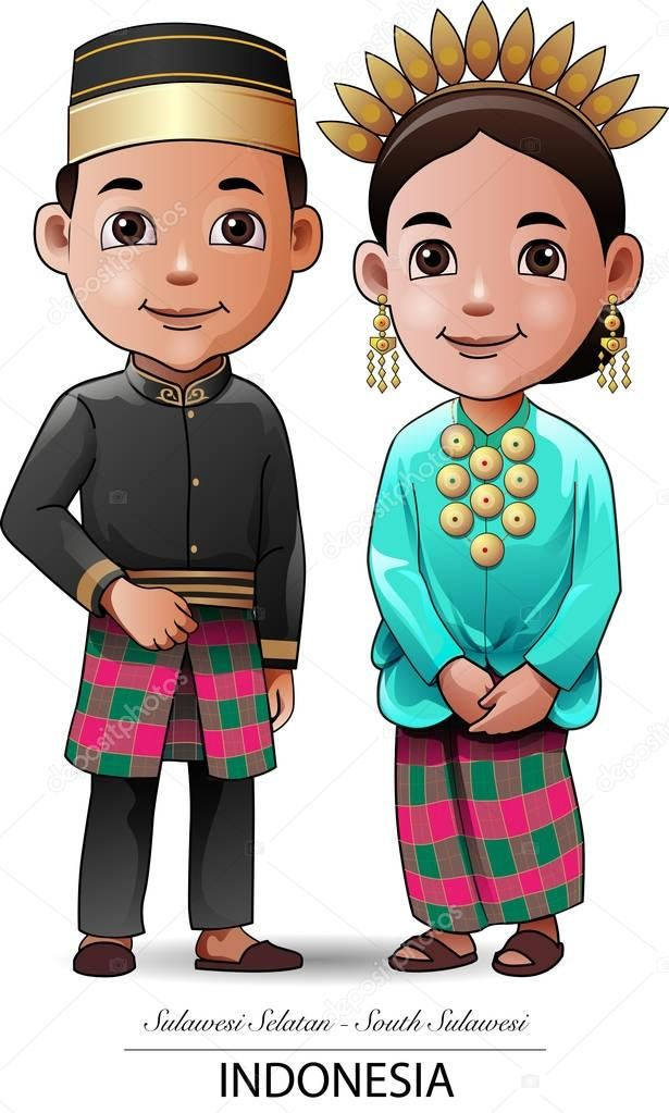 Sulawesi Selatan Baju Adat