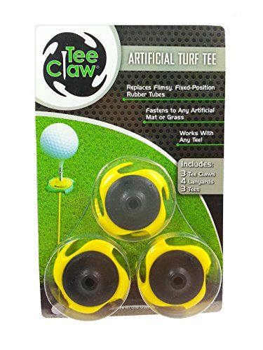 Tee Claw Golf Training Kit, Artificial Turf Tee Holder and Training Alignment Aid - http://golfing.nationalsales.com/tee-claw-golf-training-kit-artificial-turf-tee-holder-and-training-alignment-aid/
