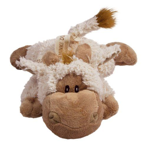 kong cozie tupper the goat plush dog toy