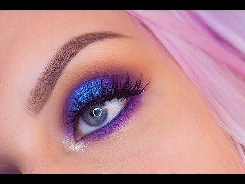 Urban Decay Vollspektrum-Palette – Farbfelder und Make-up-Look – YouTube   – Makeup