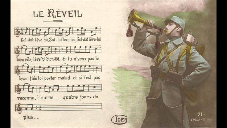 Musique Militaire - Sonnerie du réveil Française