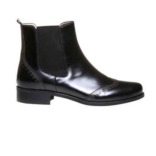 Trendy kožená Chelsea obuv WEB - right side