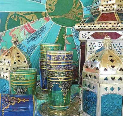 Moroccan Home Decor on Janneale S Home  Decorating   Moroccan Style