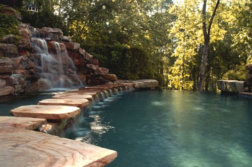 Custom Swimming Pools by Avalon Pools - Award winning Atlanta pool builders of luxury inground pools.