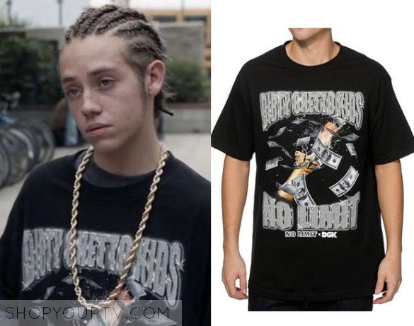 Shameless: Season 6 Episode 3 Carl's Black Ghetto T Shirt