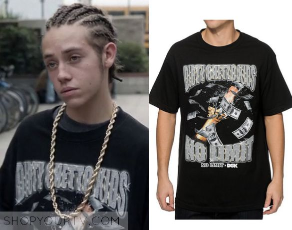 Shameless Season 6 Episode 3 Carlu0026#39;s Black Ghetto T Shirt | Shameless - Fashion Style u0026 Clothes ...