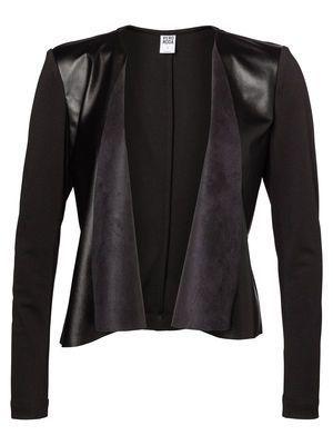 PU DRAPY L/S BLAZER VERO MODA #veromoda #blazer #black #fashion #style @Veronica Sartori MODA
