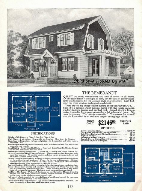 322 best dutch colonial images on pinterest cottage for Rembrandt homes floor plans
