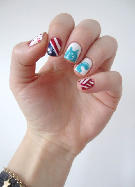 Lady gaga inspired nail art #cocosnailss