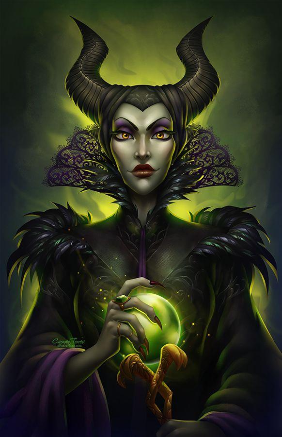 Mistress of All Evil by artofcarmen.deviantart.com on @DeviantArt