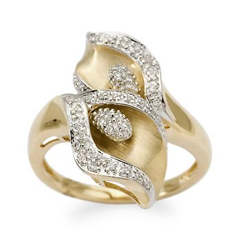 My wedding bouquet was calla lilies, so I'm thinking this ring would be a lovely anniversary gift . . someday!