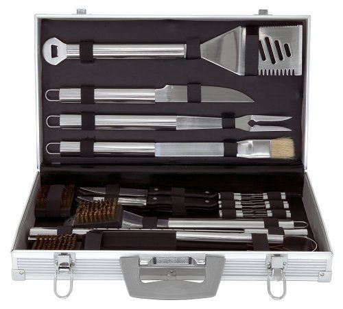 Tool Set with Carrying Case Kitchen Mr Bar B Q 02191 30-Piece - Serving Utensils & Sets