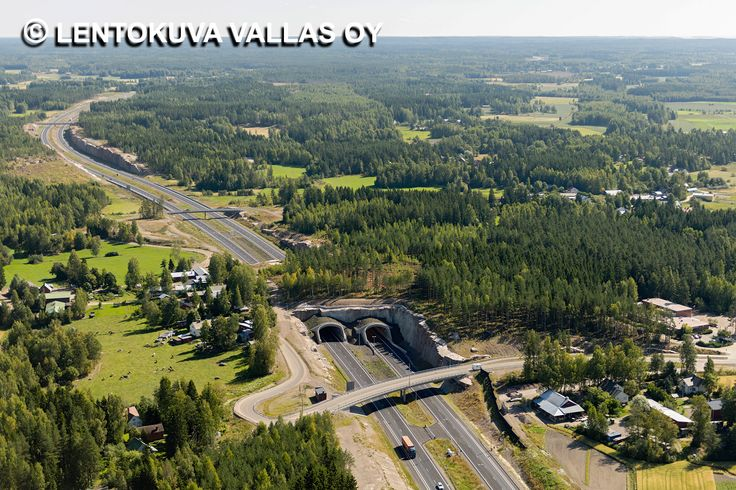 E18-moottoritie, Hamina Ilmakuva: Lentokuva Vallas Oy