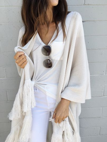 Free People - soft fringe Kimono: http://liketk.it/2pjsA @liketoknow.it #liketkit