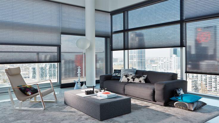 Laat u inspireren door Luxaflex® raamdecoratie. Duette® Shades