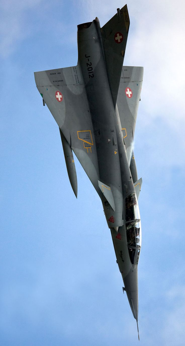 Swiss Air Force Dassault Mirage III DS