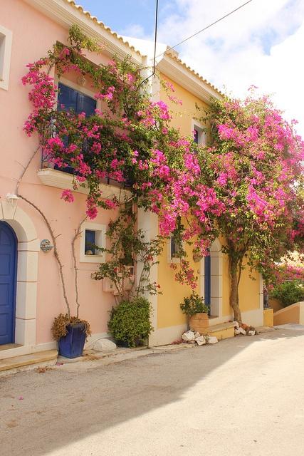 Assos, Kephalonia Island, Greece by EEPaul, via Flickr  cy/jg